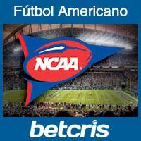 Apuestas en Fútbol Americano Universitario en Betcris