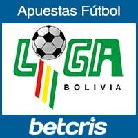 Apuestas de Futbol Primera Division Bolivia