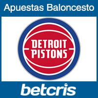 Apuestas en los Detroit Pistons - Baloncesto de la NBA