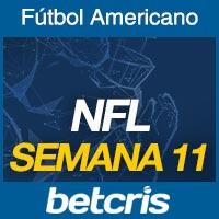 Apuestas Fútbol Americano NFL Semana 11