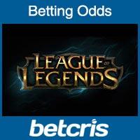 League of Legends Betting Odds - eSports Betting Odds