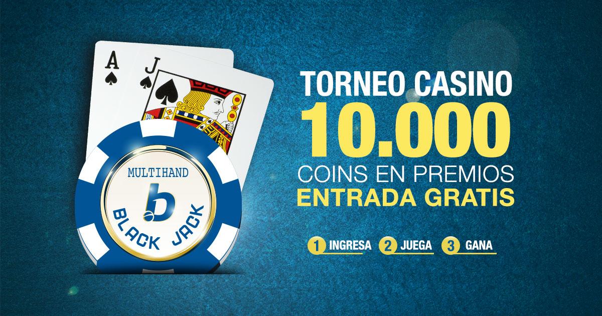 Torneo de casino en linea Blackjack Multihand