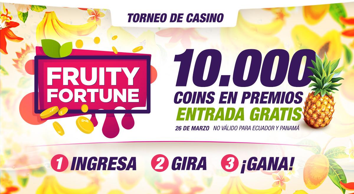 Torneo de casino Fruity Fortune