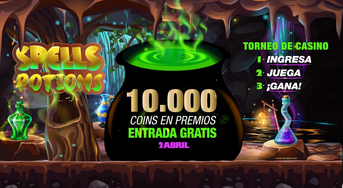 Torneo de Casino Spells Potions