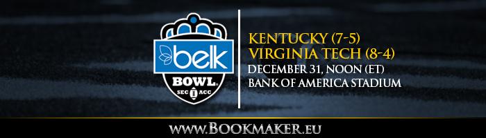 Belk Bowl Betting