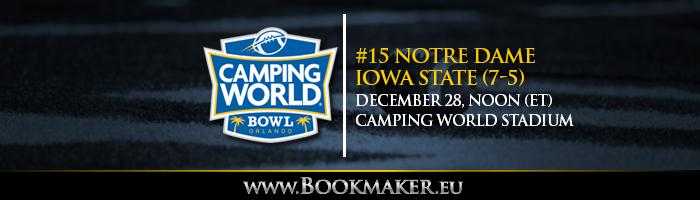Camping World Bowl Betting