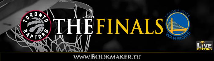 cbba8ea7 2019 NBA Finals - Golden State Warriors vs. Toronto Raptors Odds