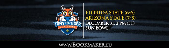 Sun Bowl Betting