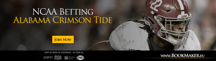 Alabama Crimson Tide NCAA Football Betting