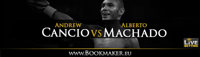Andrew Cancio vs. Alberto Machado II Boxing Betting