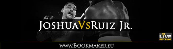 Anthony Joshua vs. Andy Ruiz Jr. Boxing Betting
