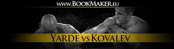 Anthony Yarde vs. Sergey Kovalev Boxing Betting