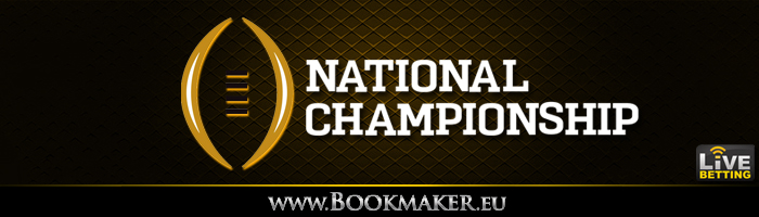 CFP National Championship Betting Odds