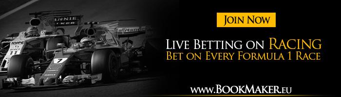 Formula 1 Betting Online