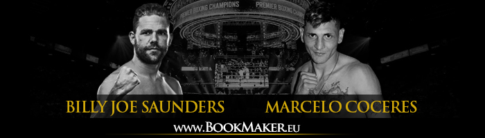 Billy Joe Saunders vs. Marcelo Coceres Boxing Betting