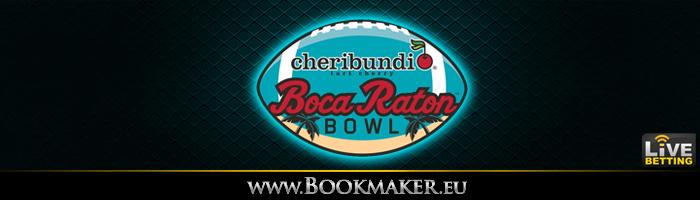 Boca Raton Bowl Betting Odds