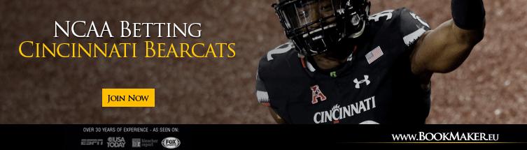 Cincinnati Bearcats NCAA Football Betting