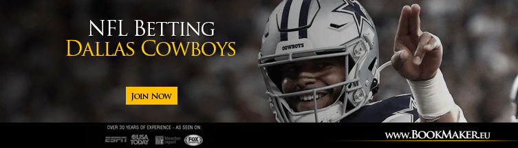 betting line dallas cowboys