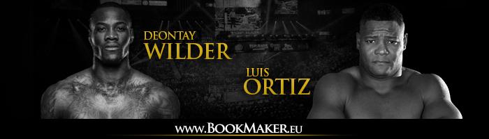 Deontay Wilder vs. Luis Ortiz Boxing Betting