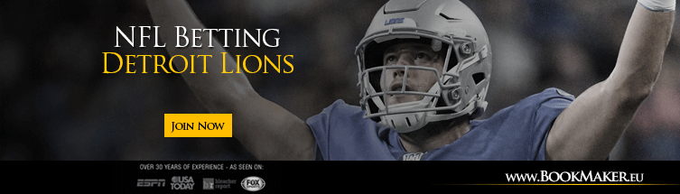 Detroit Lions NFL Betting
