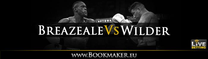 Dominic Breazeale vs. Deontay Wilder Boxing Betting