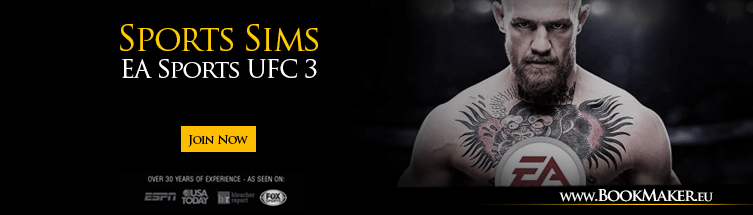 EA Sports UFC 3 Sports Sims Betting