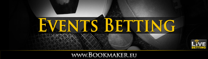 Events BookMaker Betting