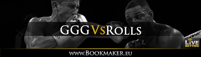 Gennady Golovkin vs. Steve Rolls Boxing Betting