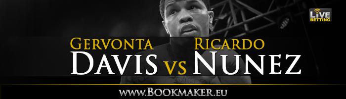 Gervonta Davis vs. Ricardo Nunez Boxing Betting