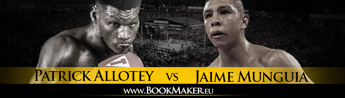 Jaime Munguia vs. Patrick Allotey Boxing Betting
