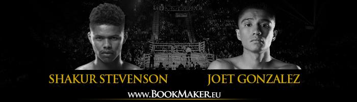 Joet Gonzalez vs. Shakur Stevenson Boxing Betting