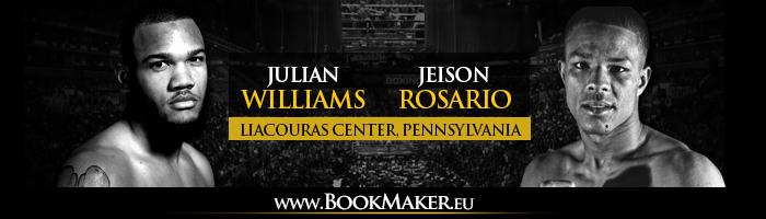 Julian Williams vs. Jeison Rosario Betting