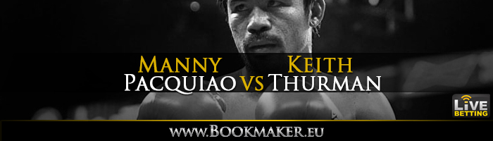 Keith Thurman vs. Manny Pacquiao Boxing Betting