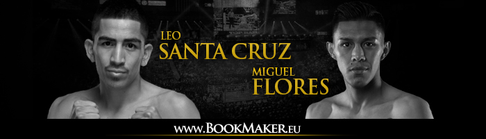 Leo Santa Cruz vs. Miguel Flores Boxing Betting
