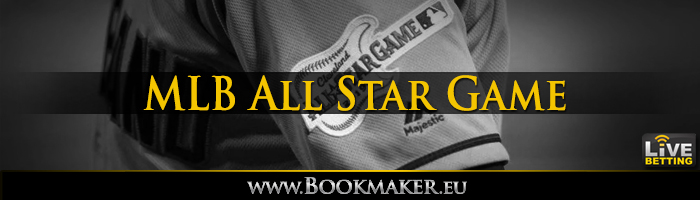 mlb all star game betting odds