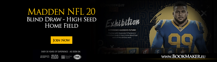 Madden NFL 20 Blind Draw - High Seed Home Field Tournament