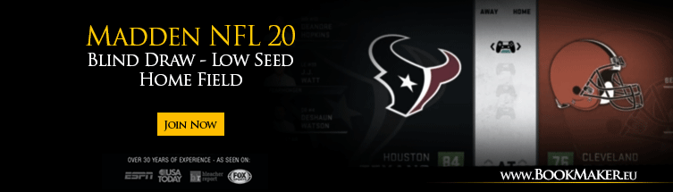 Madden NFL 20 Blind Draw - Low Seed Home Field