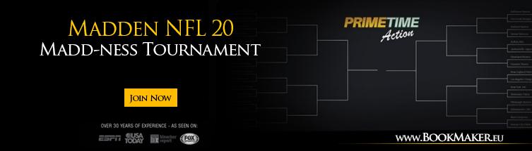 Madden NFL 20 Madd-ness Tournament Betting
