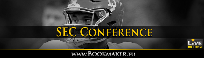 SEC Football Conference Odds