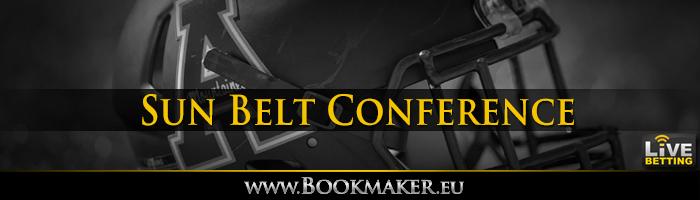 Sun Belt Football Conference Odds