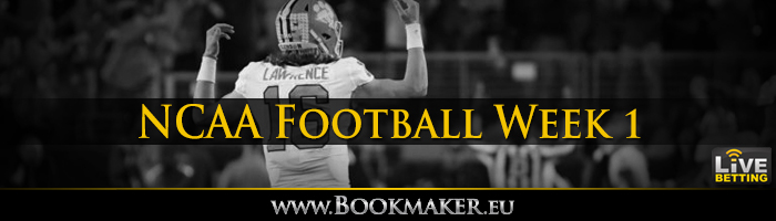 College Football Week 1 Betting