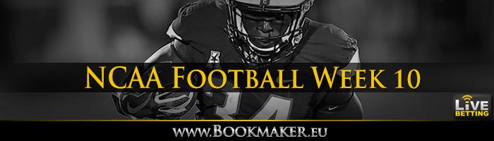College Football Week 10 Betting