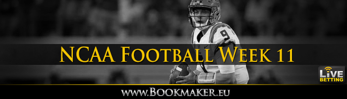 College Football Week 11 Betting