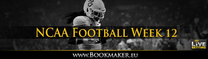 College Football Week 12 Betting