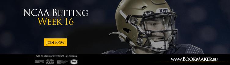 College Football Week 16 Betting