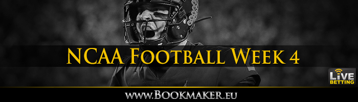 College Football Week 4 Betting