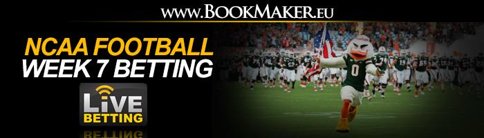 NCAA Football Week 7 Betting Odds