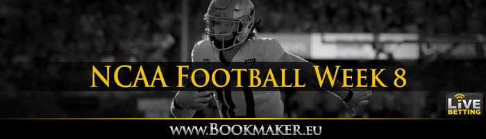 College Football Week 8 Betting