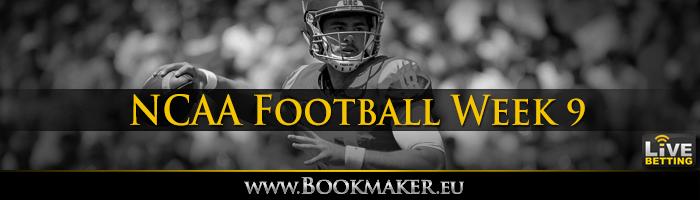 College Football Week 9 Betting