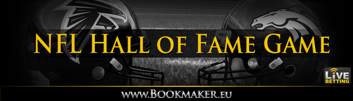 NFL Hall of Fame Game Betting